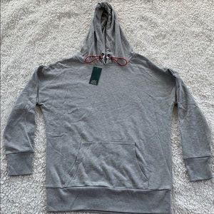 WILD FABLE: Cozy Gray Sweatshirt with red cording